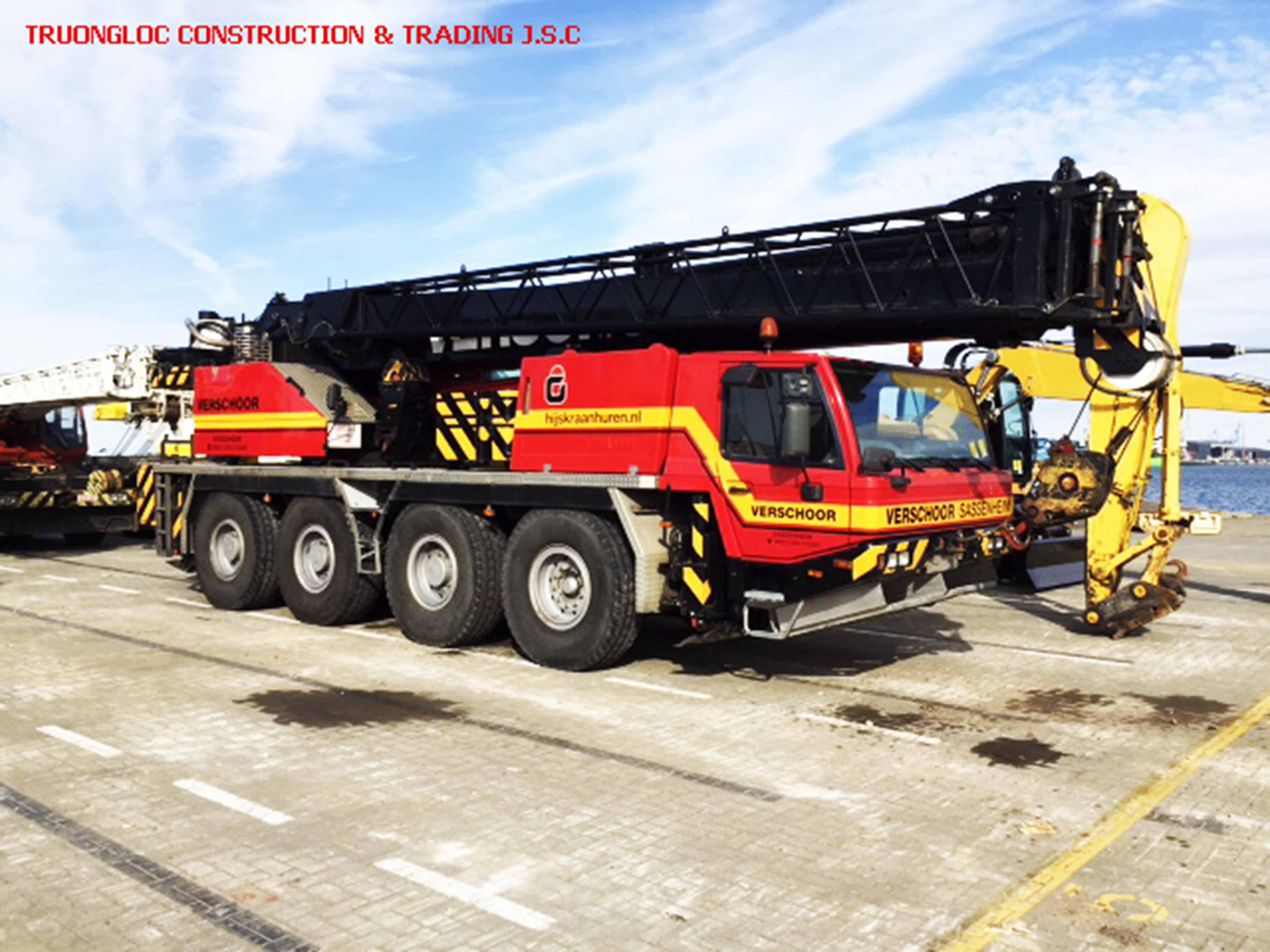Tadano crane 60 tons