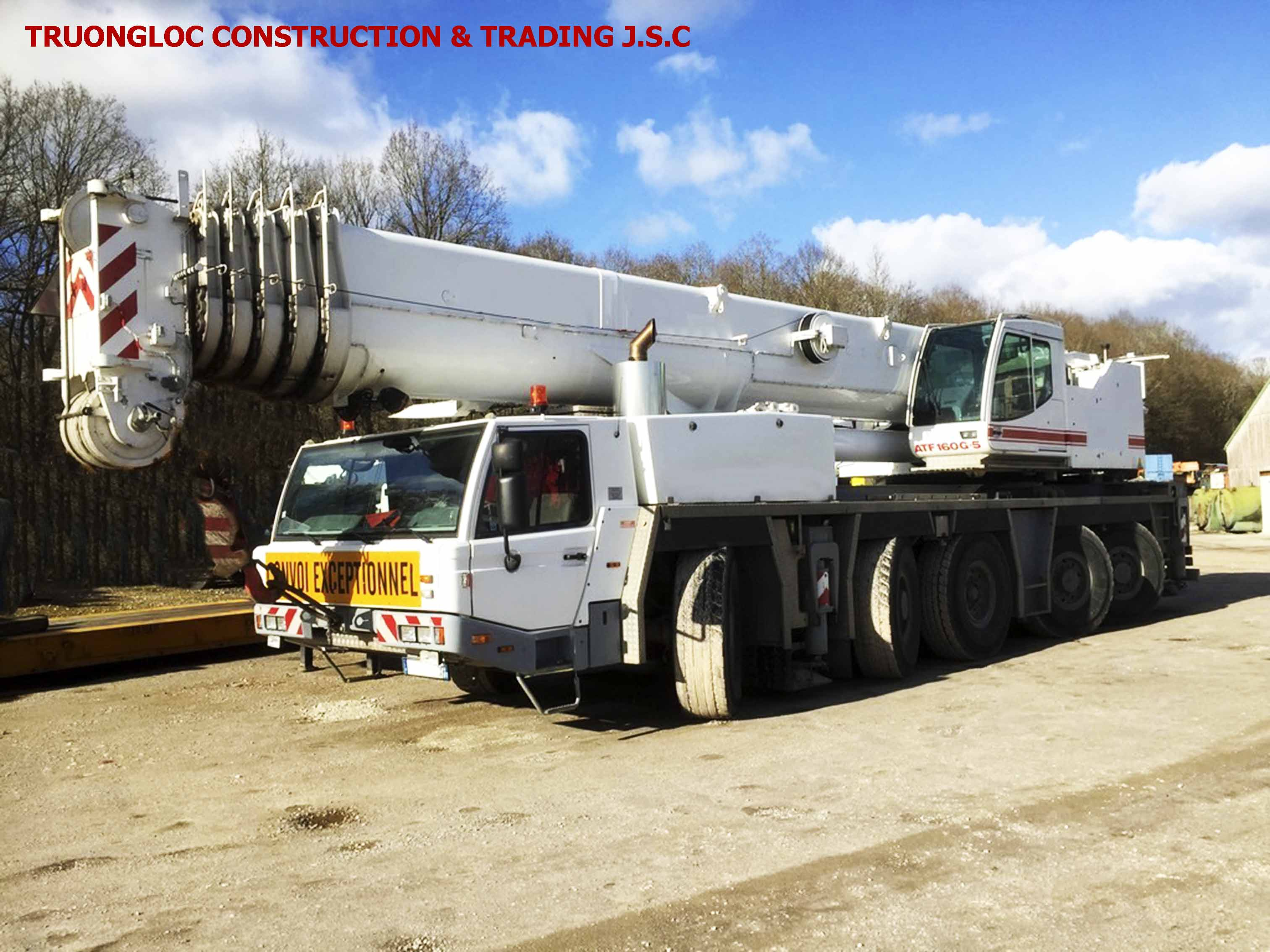 Tadano crane 160 ton
