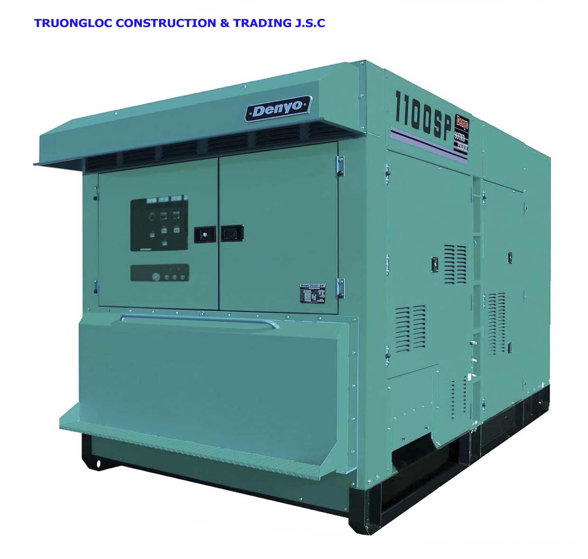 Denyo DCA1100-SPC generator