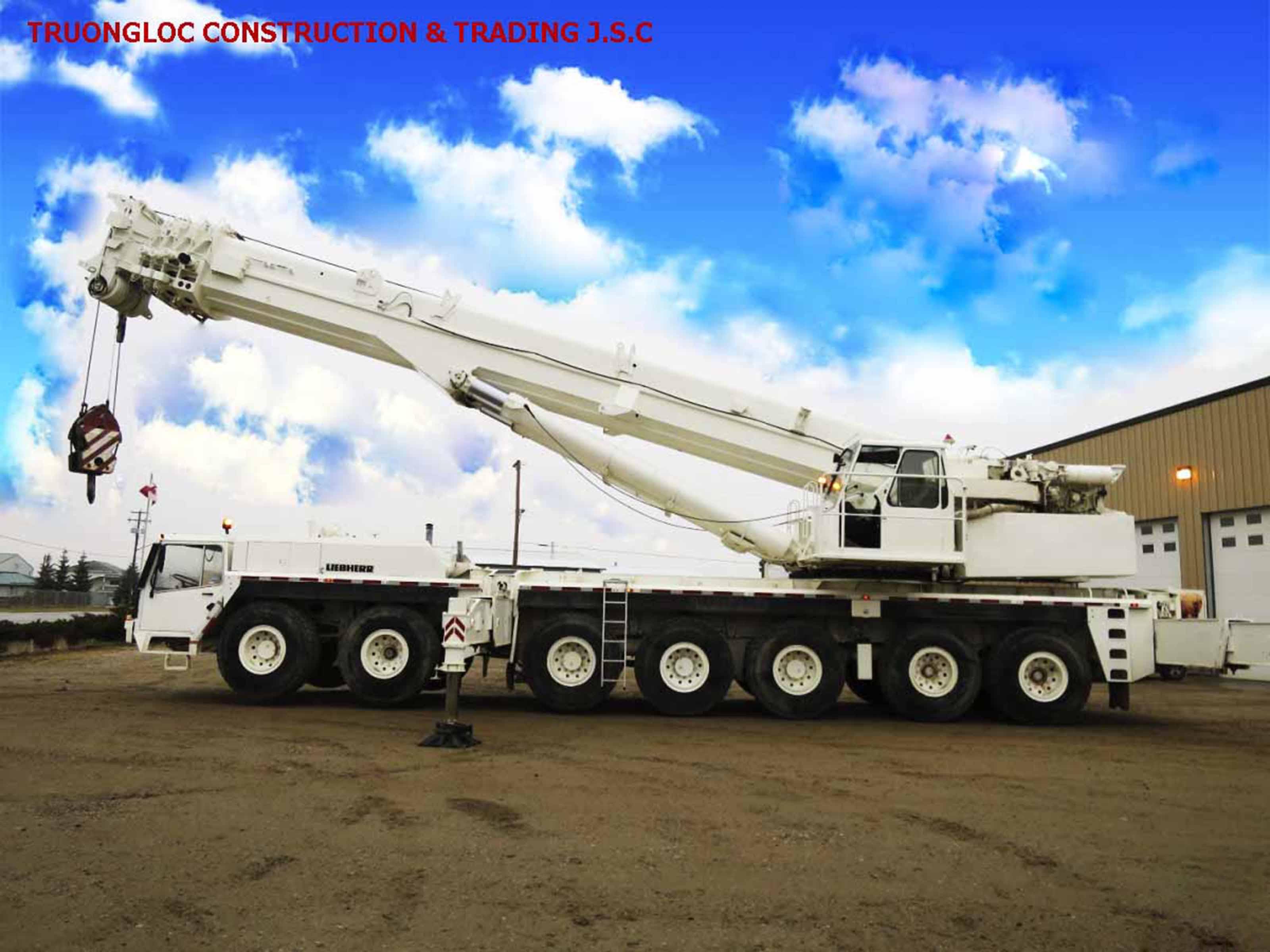 Liebherr 300 tonne crane