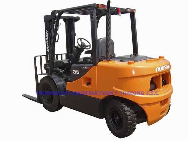 Doosan forklift diesel 3.5 tons