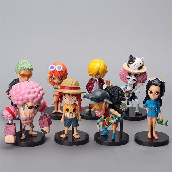 Bộ Mô Hình Băng Mũ Rơm One Piece MS 2