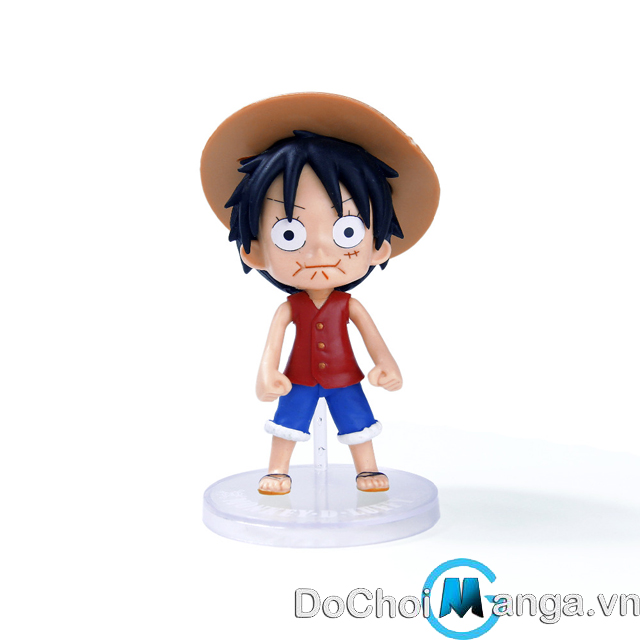Mô Hình Chibi Luffy One Piece MS 13