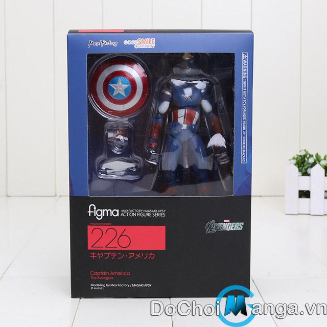 Mô Hình Figma Captain America