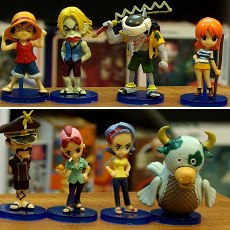 Mô Hình  One Piece MS4