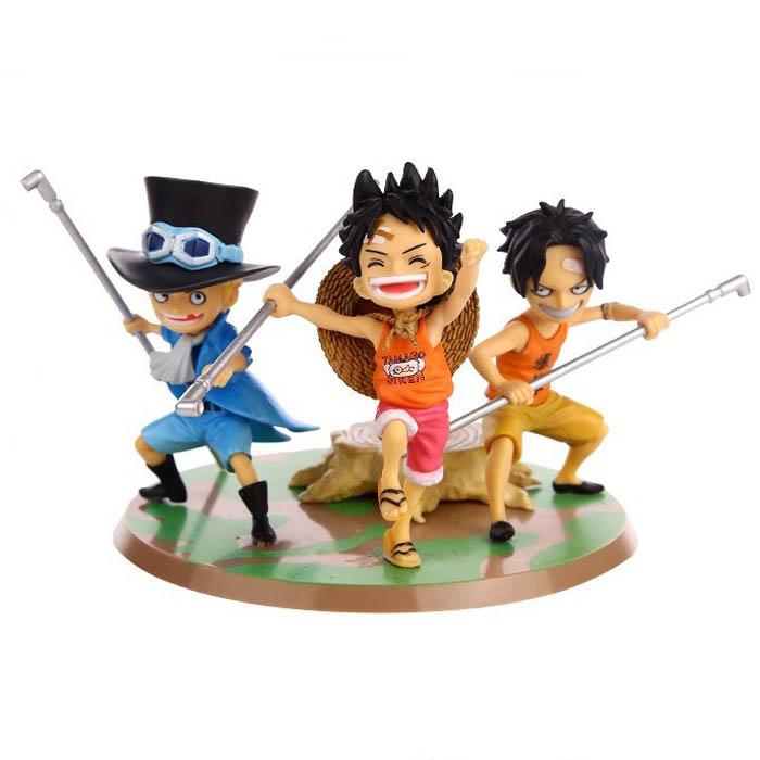 Mô Hình Ace - Luffy - Sabo One Piece MS1