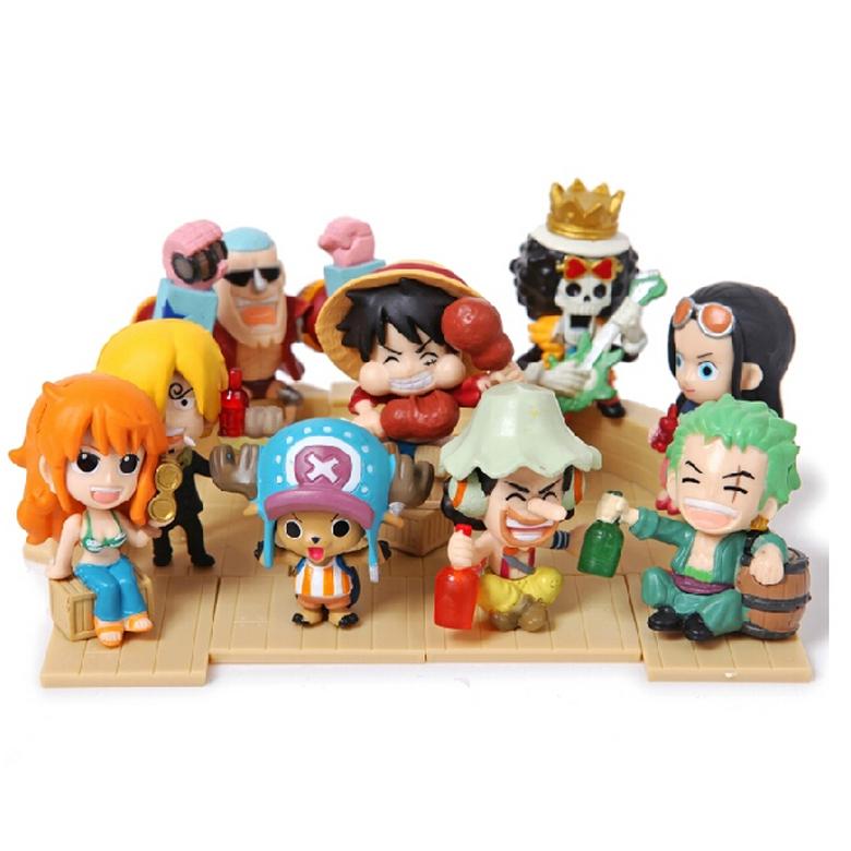 Mô Hình Nhóm Hải Tặc Mũ Rơm One Piece MS3
