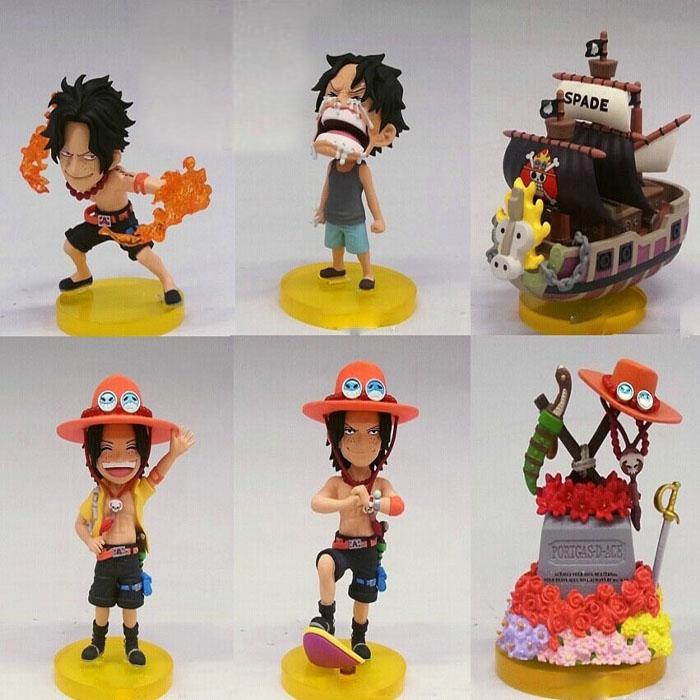 Mô Hình  Ace - Luffy Chibi One Piece