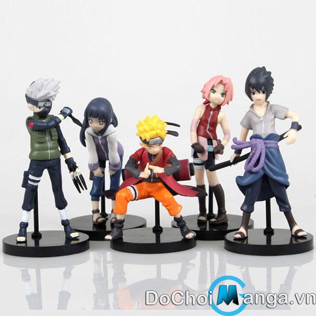 Bộ Mô Hình Đội 7 Naruto NA01019
