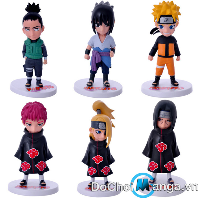 Bộ Mô Hình Naruto MS 44