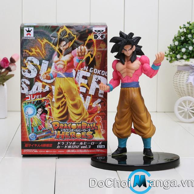 Mô Hình Songoku Super Saiyan 4  MS34