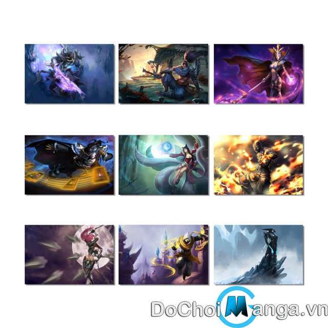 Bộ Poster League Of Legends