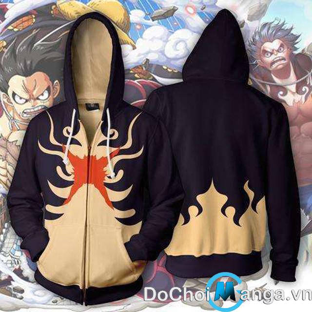 Áo Khoác Luffy Gear 4 One Piece