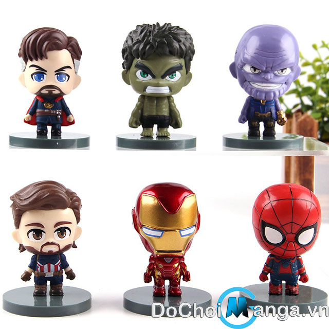 Bộ Mô Hình The Avengers Infinity War MS 1