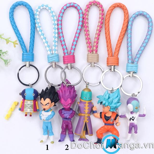 Bộ Móc Chìa Khóa Dragon Ball MS 2 Lẻ