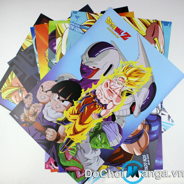 Bộ Poster Dragon Ball