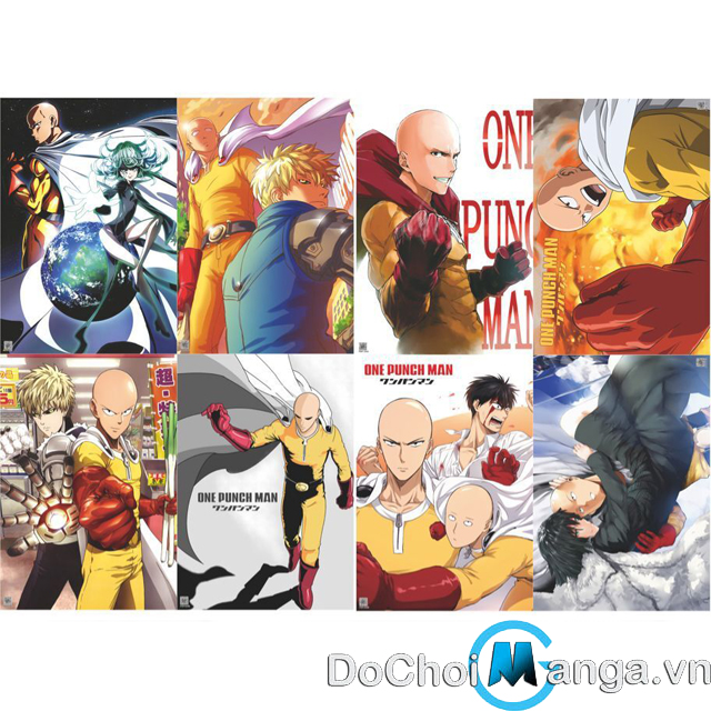 Bộ Poster One Punch Man