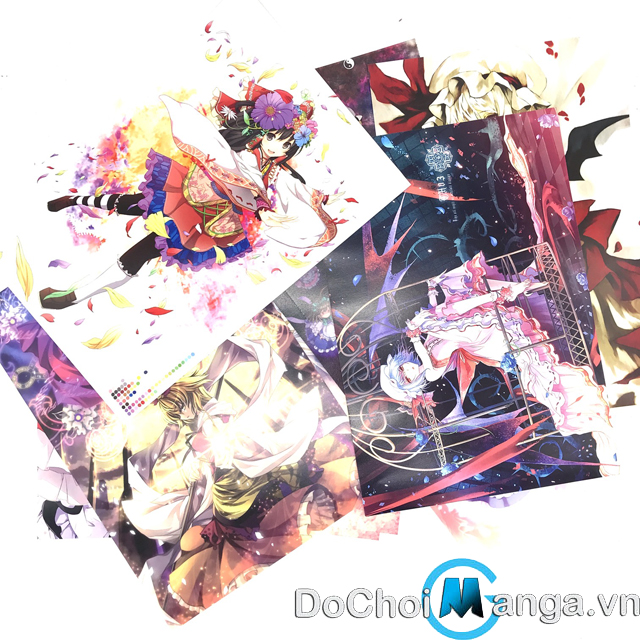 Bộ Poster Touhou Project