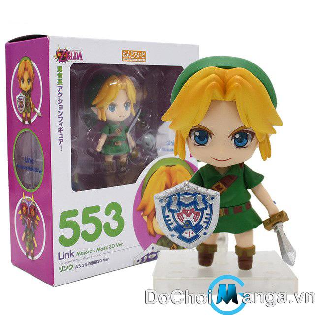 Mô Hình Nendoroid Legend Of Zelda Link Majora Mask 3D ver