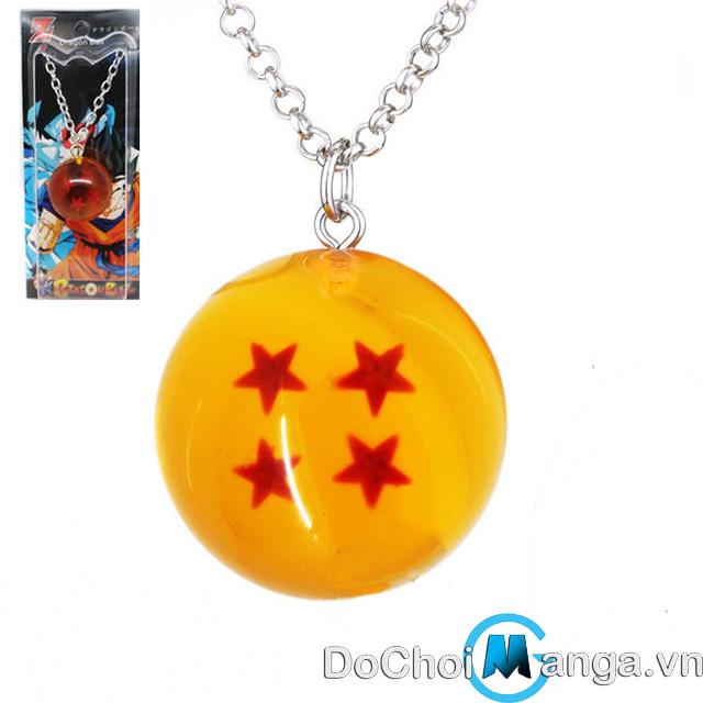 Dây Chuyền 4 Sao Ngọc Rồng - Dragon Ball