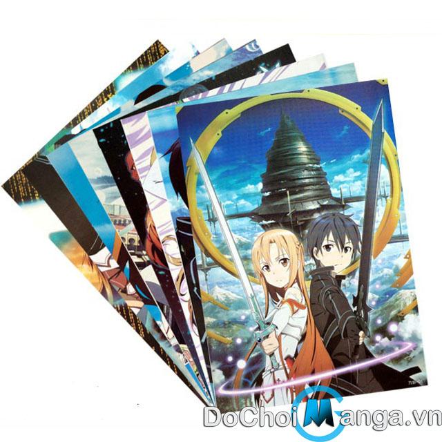Bộ Poster Sword Art Online