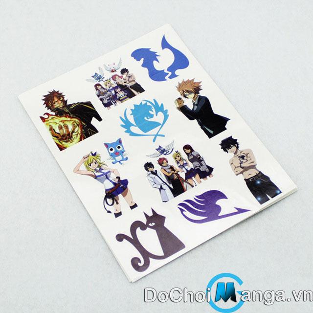 Hình Xăm Fairy Tail