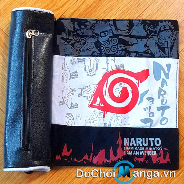 Hộp bút vải Naruto MS1