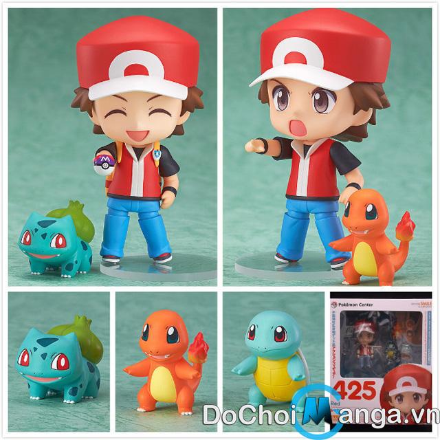 Mô Hình Nendoroid Red - Pokemon
