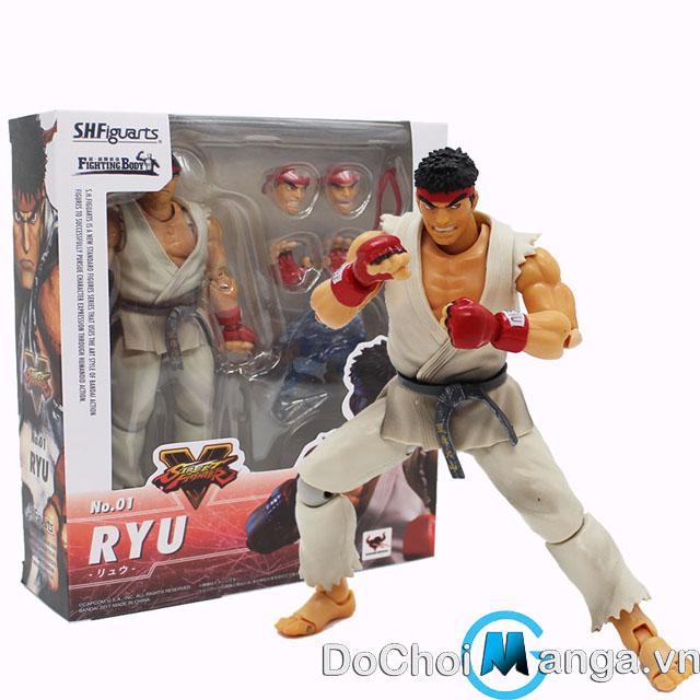 Mô Hình SHFiguarts Ryu Street Fighter