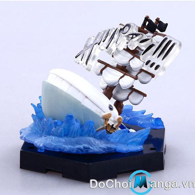 Mô Hình Chibi Tàu Râu Trắng One Piece MS 1