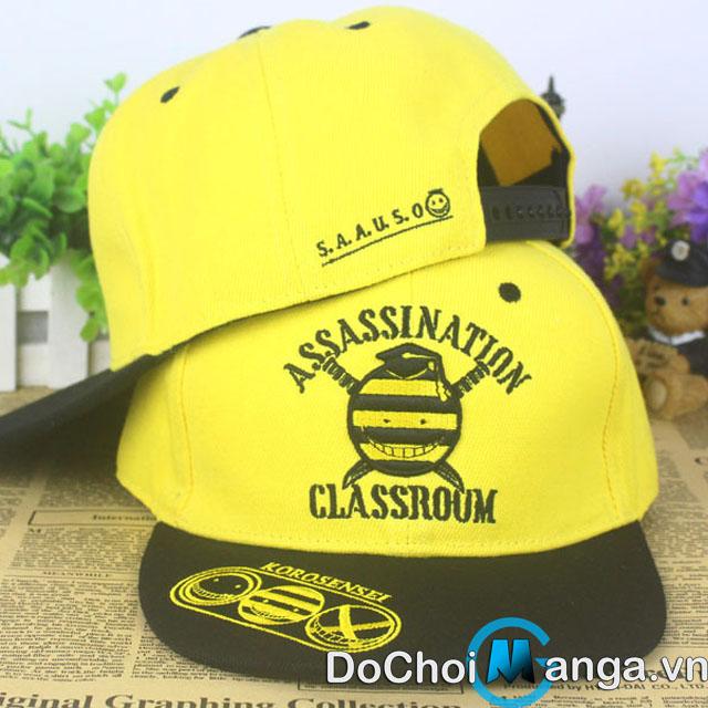 Mũ Snapback Ansatsu Kyoushitsu - Lớp Học Ám Sát MS1