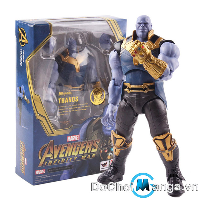 Mô Hình SHFiguarts Thanos The Avengers Infinity
