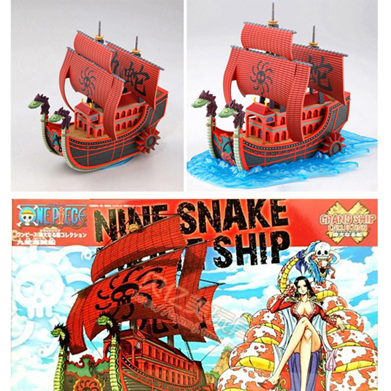 Mô Hình Tàu Lắp Ráp Boa Hancock One Piece