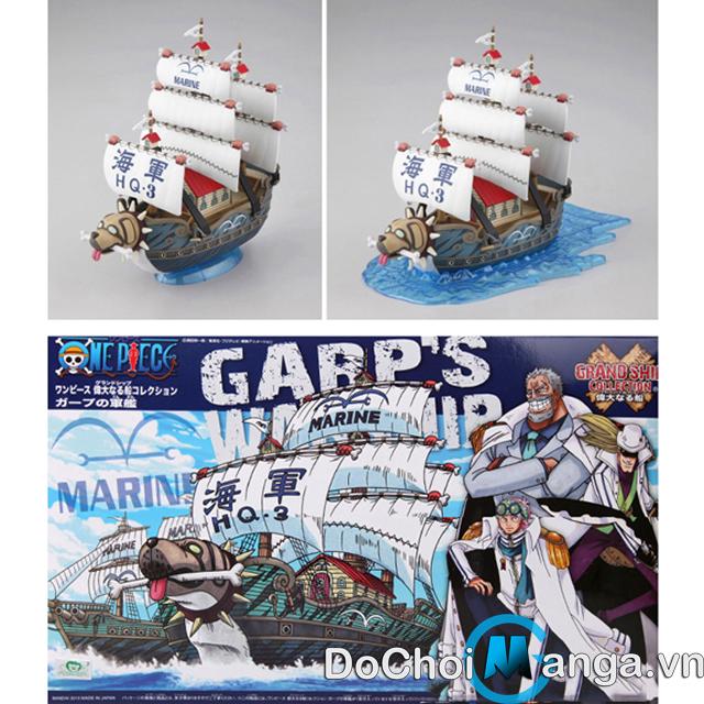 Mô Hình Tàu Lắp Ráp Garp One Piece