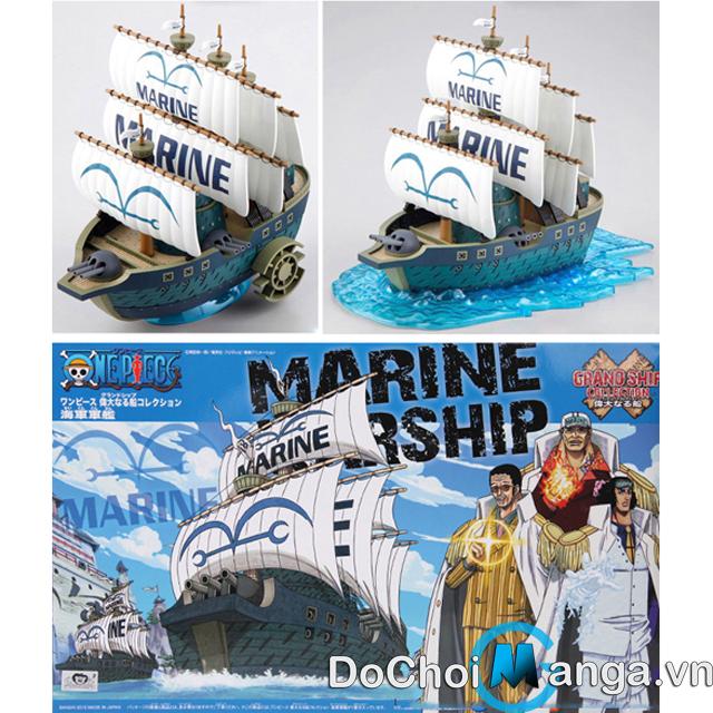 Mô Hình Tàu Lắp Ráp Marine One Piece