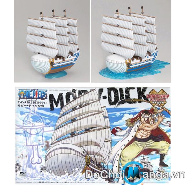 Mô Hình Tàu Lắp Ráp Moby Dick (Râu Trắng) One Piece