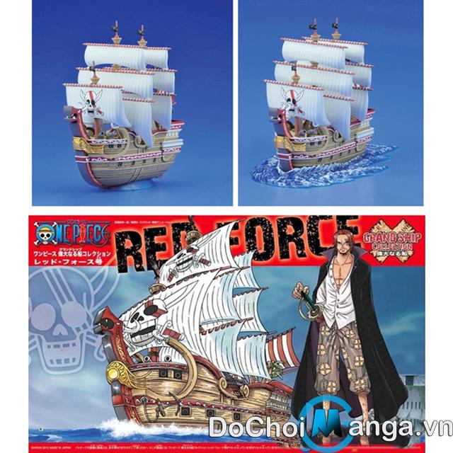 Mô Hình Tàu Lắp Ráp Shanks One Piece