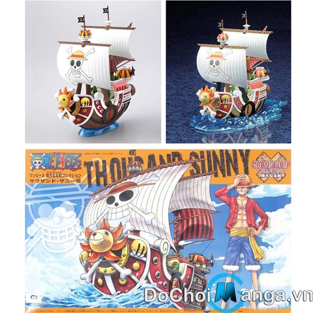 Tàu Lắp Ráp Sunny  One Piece MS18