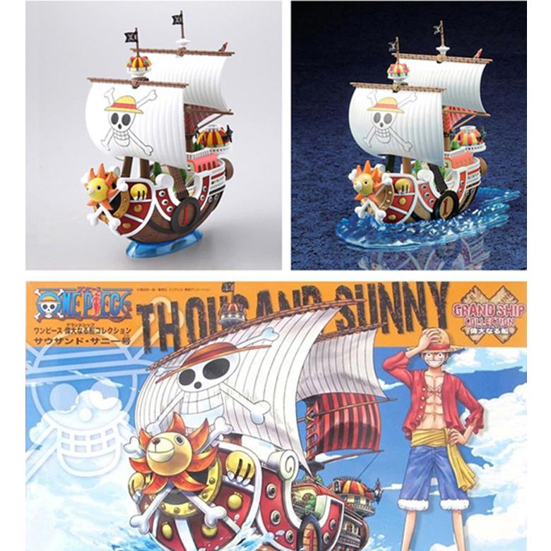 Tàu Lắp Ráp sẵn Sunny  One Piece