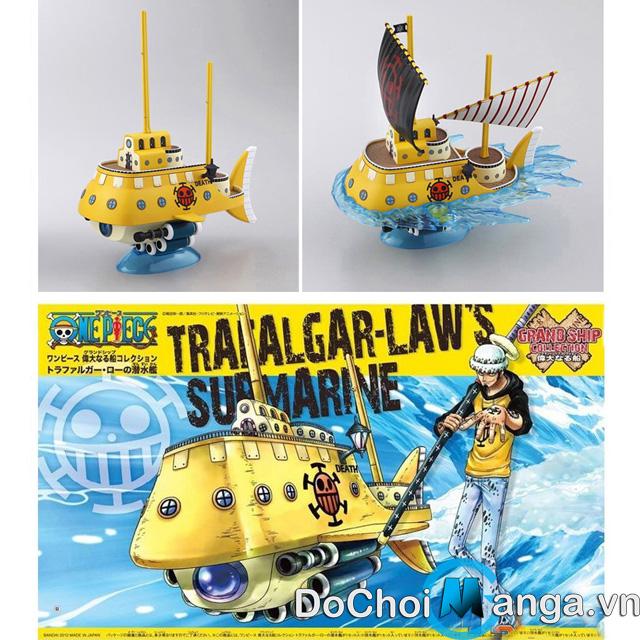 Mô Hình Tàu Lắp Ráp Trafalgar Law - One Piece