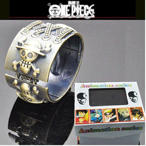 Vòng tay Kim loại Mũ Rơm One Piece MS6