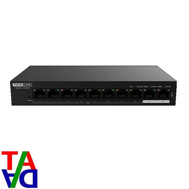 TOTOLINK SW1008P PoE Switch