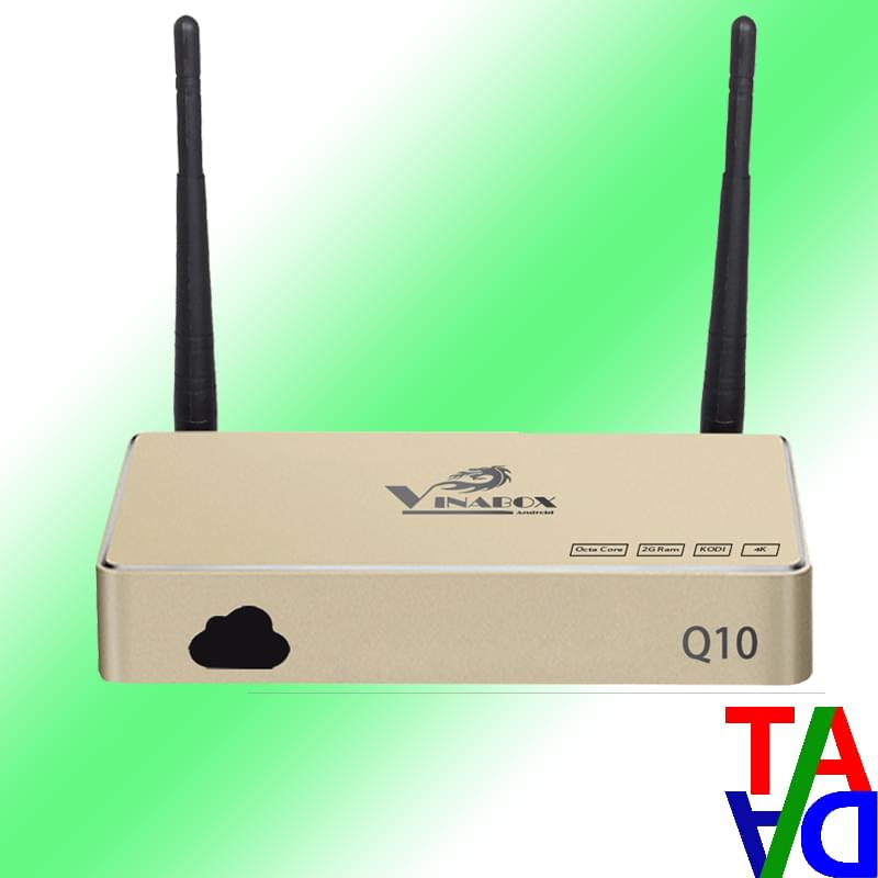 Vinabox Q10 - Android TV box hàng Việt chip 8 lõi