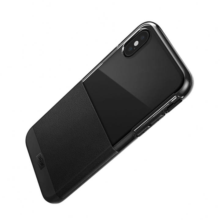 Ốp Lưng X-Doria 460774 Dash Cho iPhone XS (Black Leather)