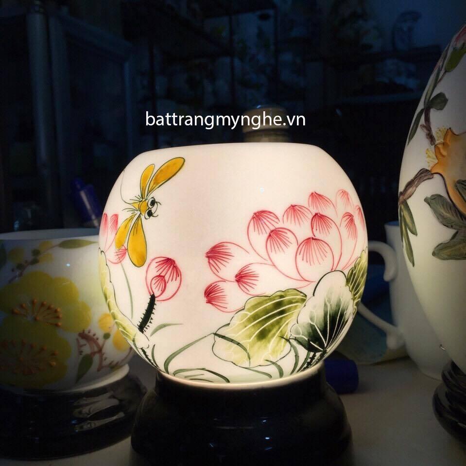 Đèn Xông Tinh Dầu Sứ Thấu Quang