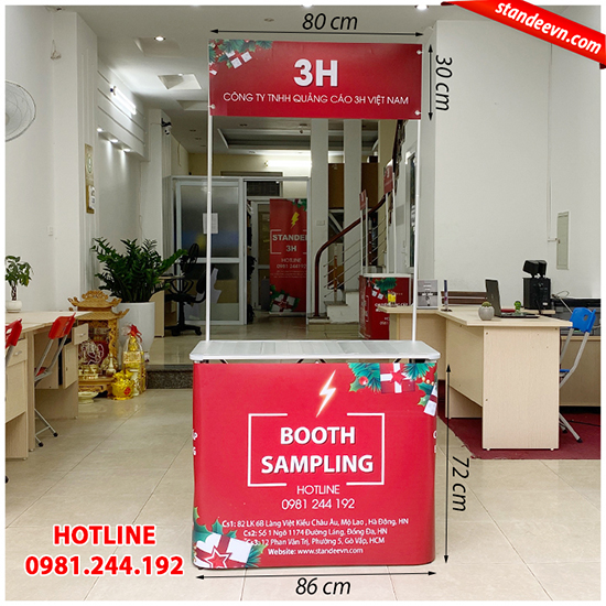 booth sampling hcm