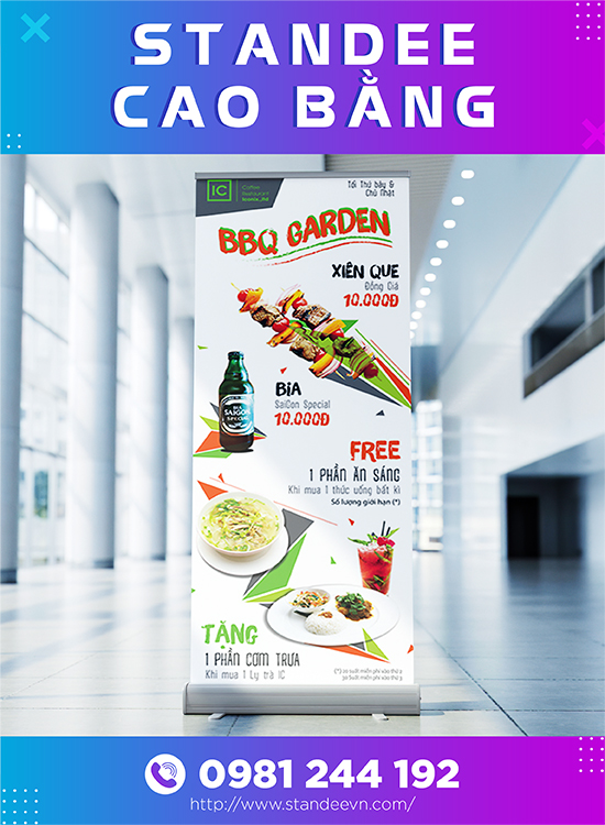 standee cao bằng