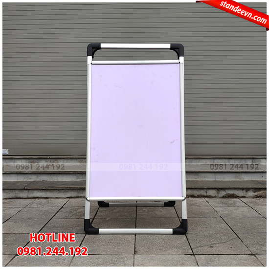 standee chữ a 2 mặt cao cấp