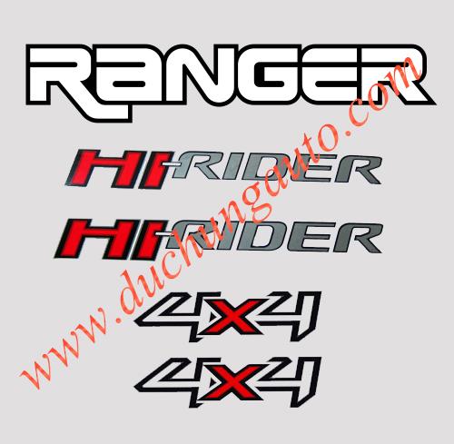 Tem xe Ford Ranger chính hãng