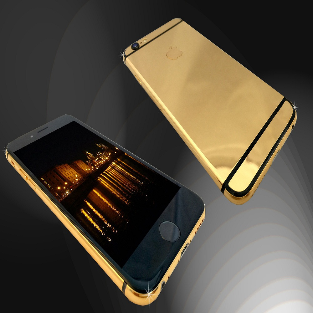 IPHONE 6  – 24K GOLD